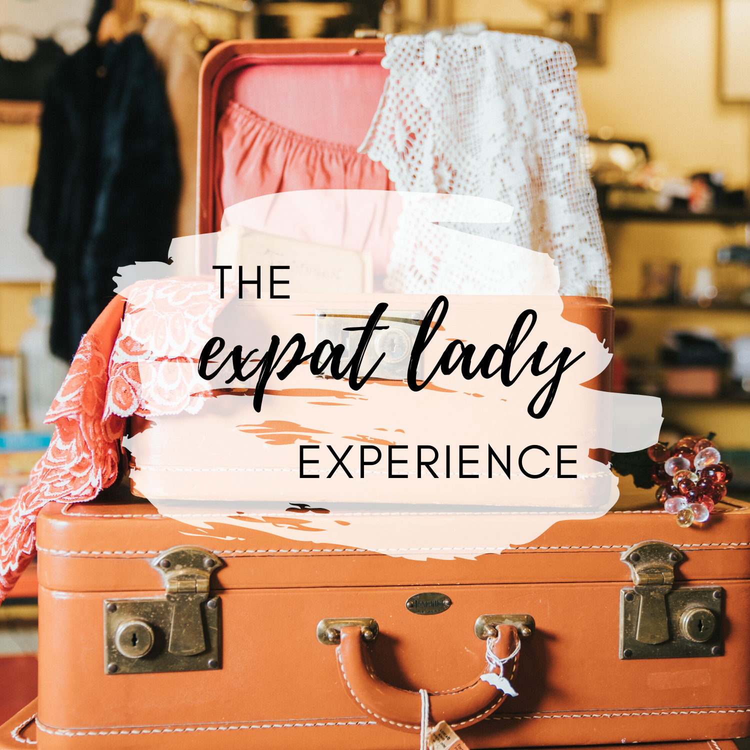 The Expat Lady Experience show art