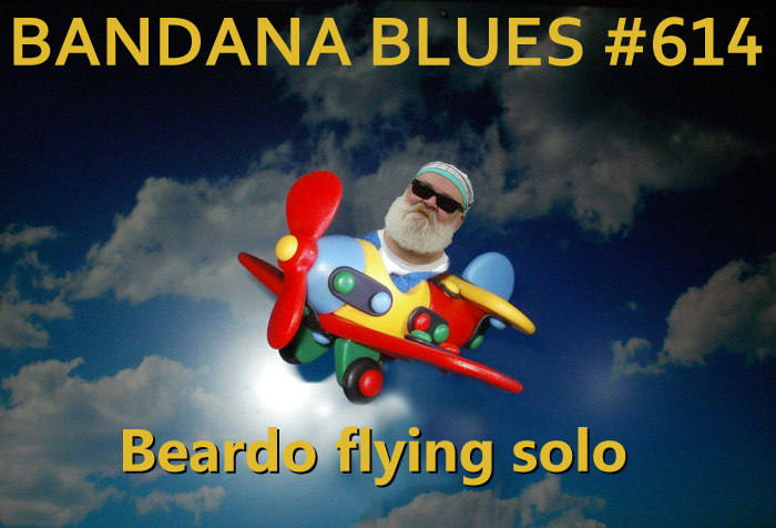 Bandana Blues#614 with Beardo & Beardo