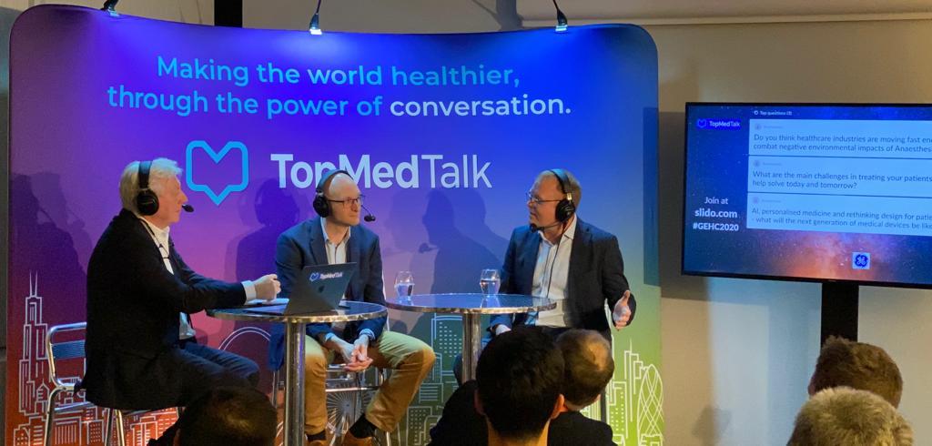 TopMedTalk | Matt Wiles and Marcus Peck. show art