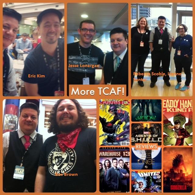 Episode 539 - More TCAF w/ Box Brown/Eric Kim/Jesse Lonergan/Rebecca Scoble & Lianne Sentar