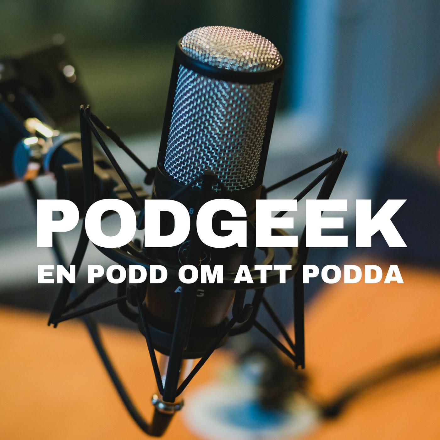 Podgeek show art