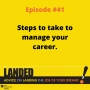 Artwork for Managing Your Career, Part 2, With Tim Cirisoli