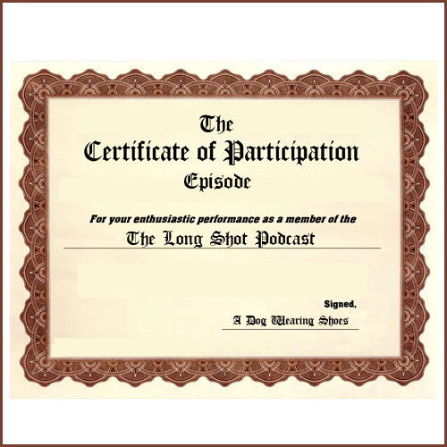 Episode #724: The Certificate of Participation Episode featuring Henry Phillips