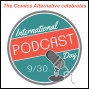 Artwork for Comics Alternative Special: A Roundtable Discussion on Comics and Podcasting for International Podcast Day 2018