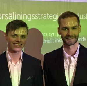 71 Så tänker en inköpare - Tony & Albin berättar om sitt examensarbete
