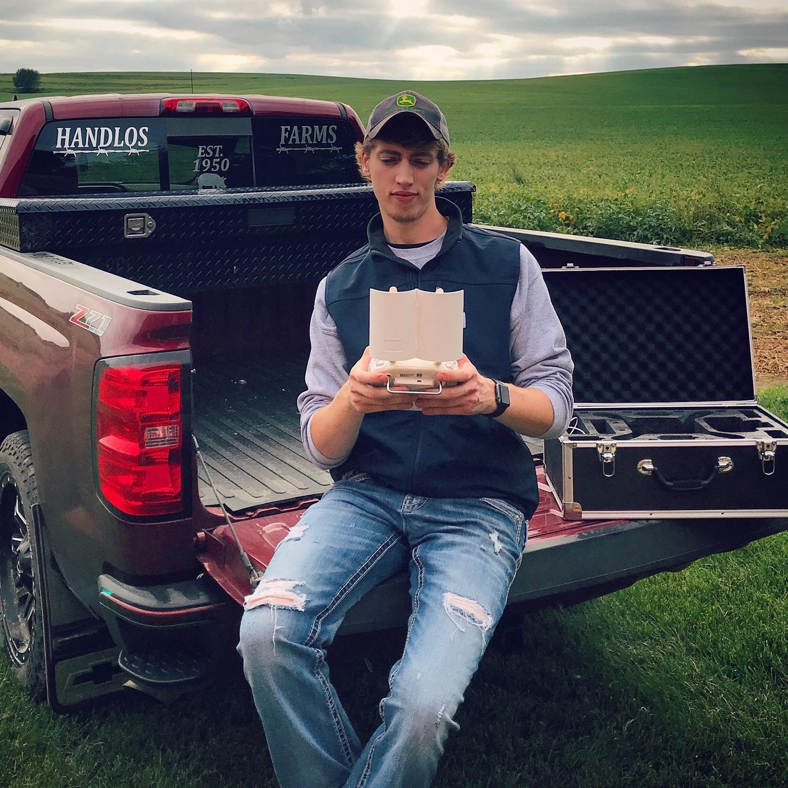 277 Iowa Farmer Blake drone videos