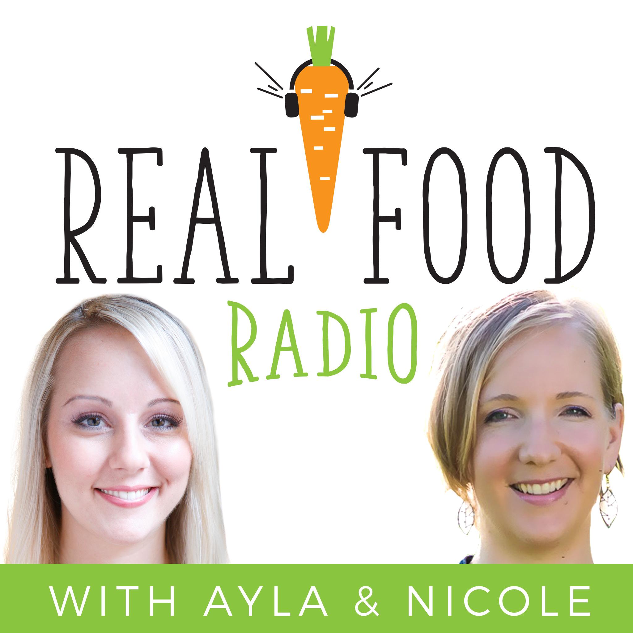 Real Food Radio Podcast show art
