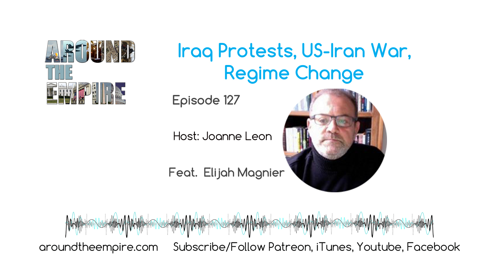 Ep 127 Iraq protests, US-Iran war, regime change