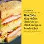 Artwork for Side Dish: Meg Makes Chris' Spicy Chicken Katsu Sandwiches