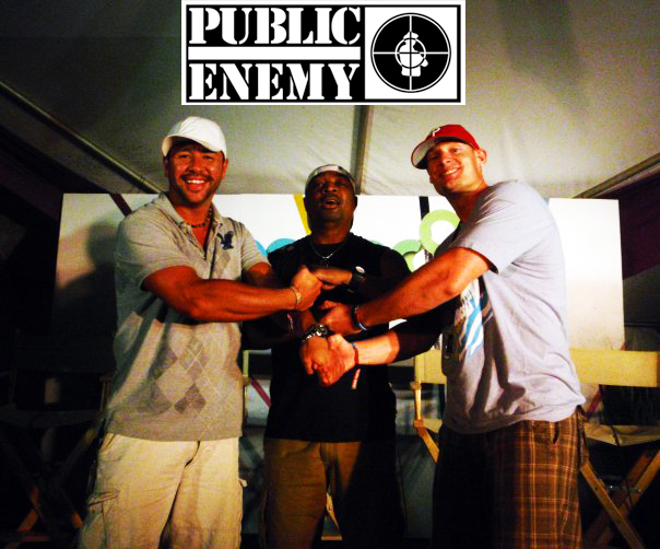 Chuck D from Public Enemy with Moe Train's Tracks/Moe Train Eats
