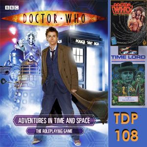 TDP 108: RPG Adventures in Time and An Earthly Child