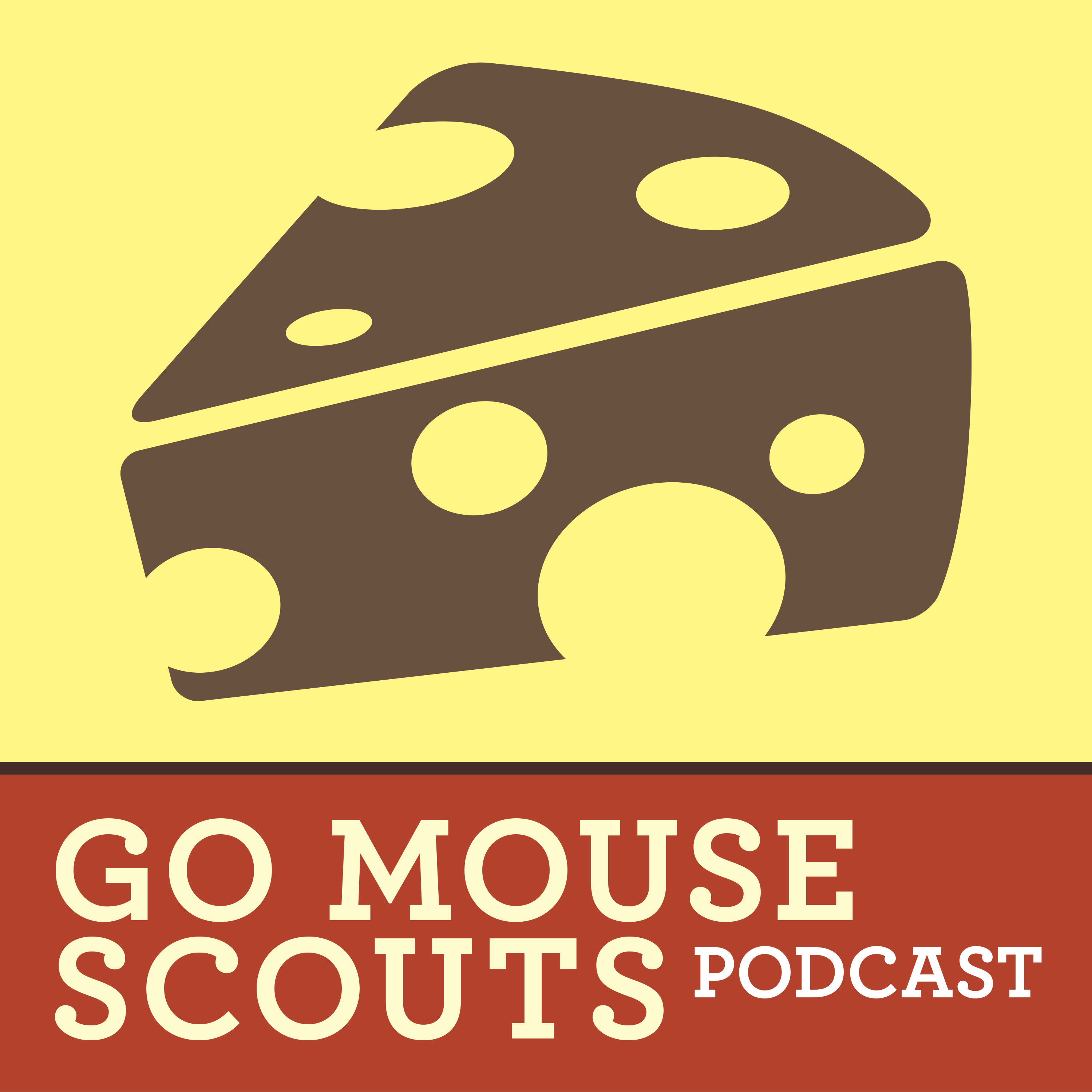 Go Mouse Scouts | Visiting Disneyland and Disney World with Kids | A Fan Podcast Bringing you Disney Park Tips & Family Fun! show art