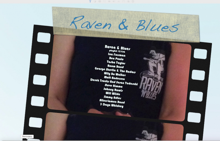 Raven and Blues 12 Feb 2016