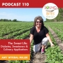 Artwork for 110: The Sweet Life: Diabetes, Sweeteners & Culinary Applications – Amy Myrdal Miller