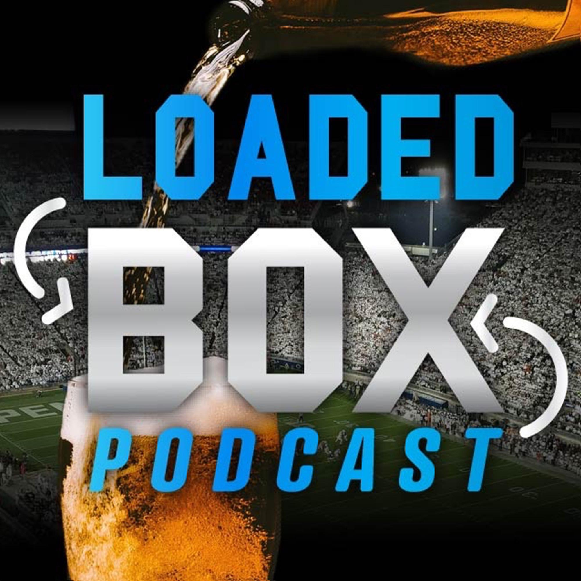Loaded Box Podcast - NFL Gambling & Fantasy Football show art