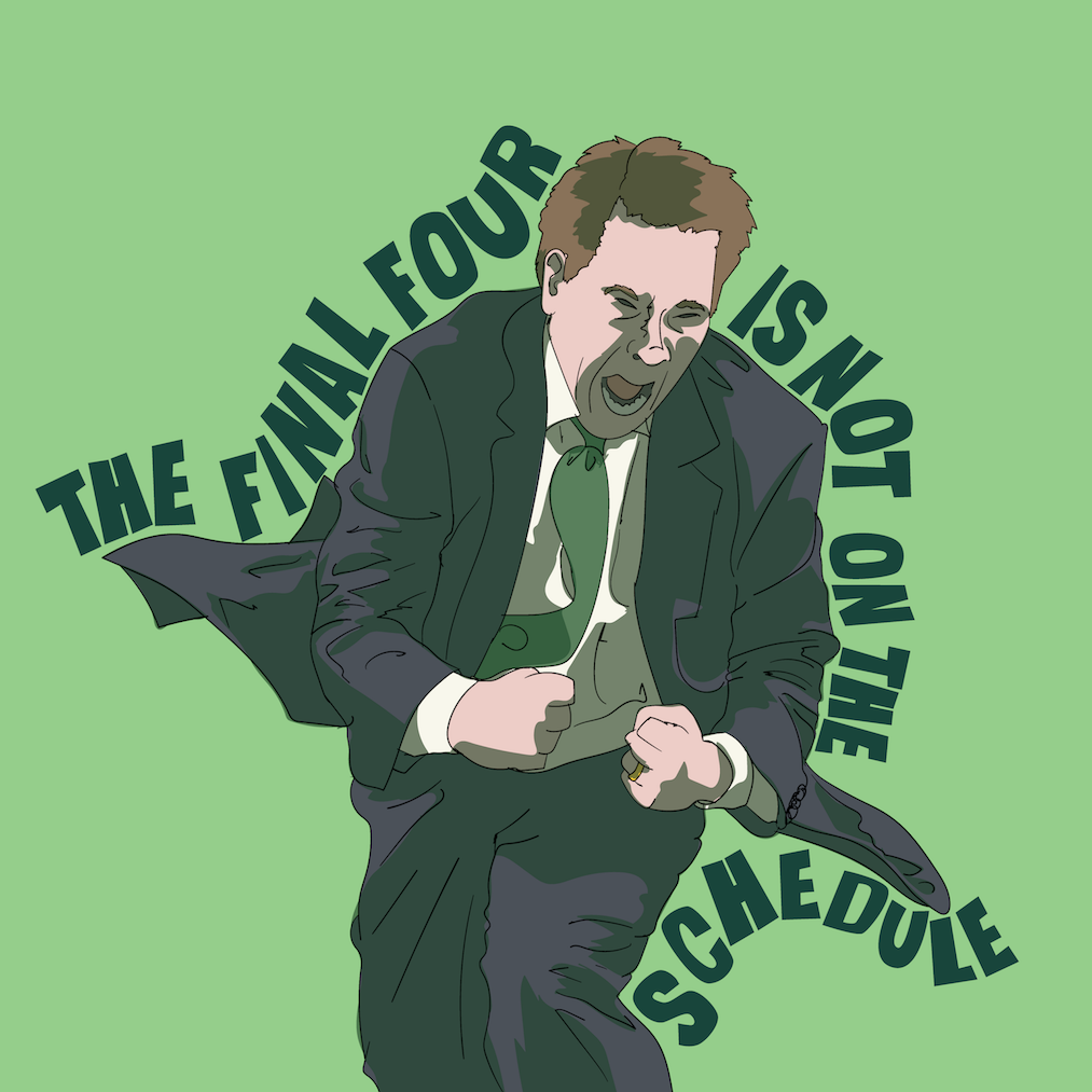 The Final Four Is Not On The Schedule - A Michigan State Basketball Podcast. show art