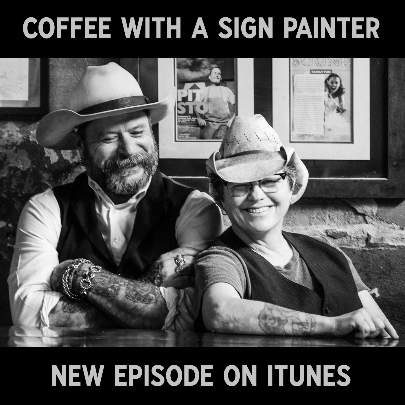 Coffee With a Sign Painter show art