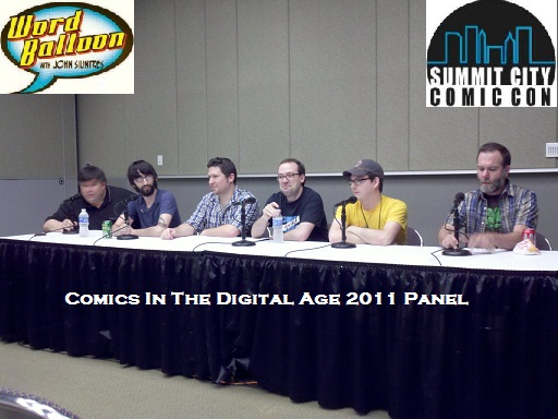 ep 356 Summit City Comcon 2011 Comics In The Digital Age