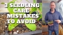 Artwork for  3 Mistakes to Avoid When Caring For Your Seedlings - DIY Garden Minute Ep. 186
