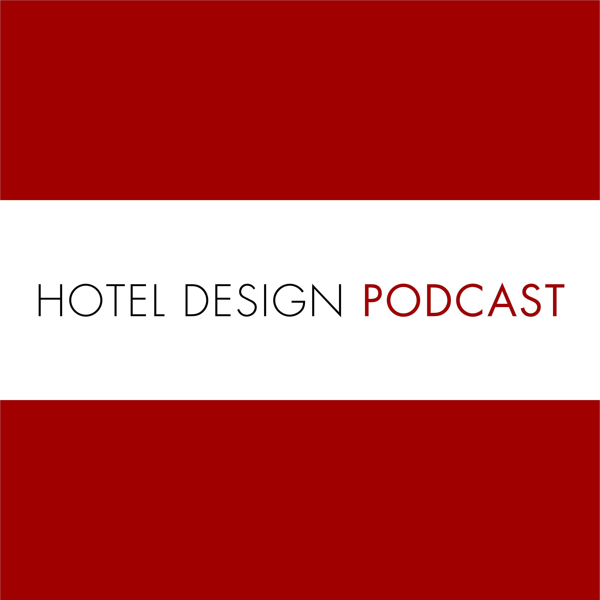 Hotel Design Podcast show art