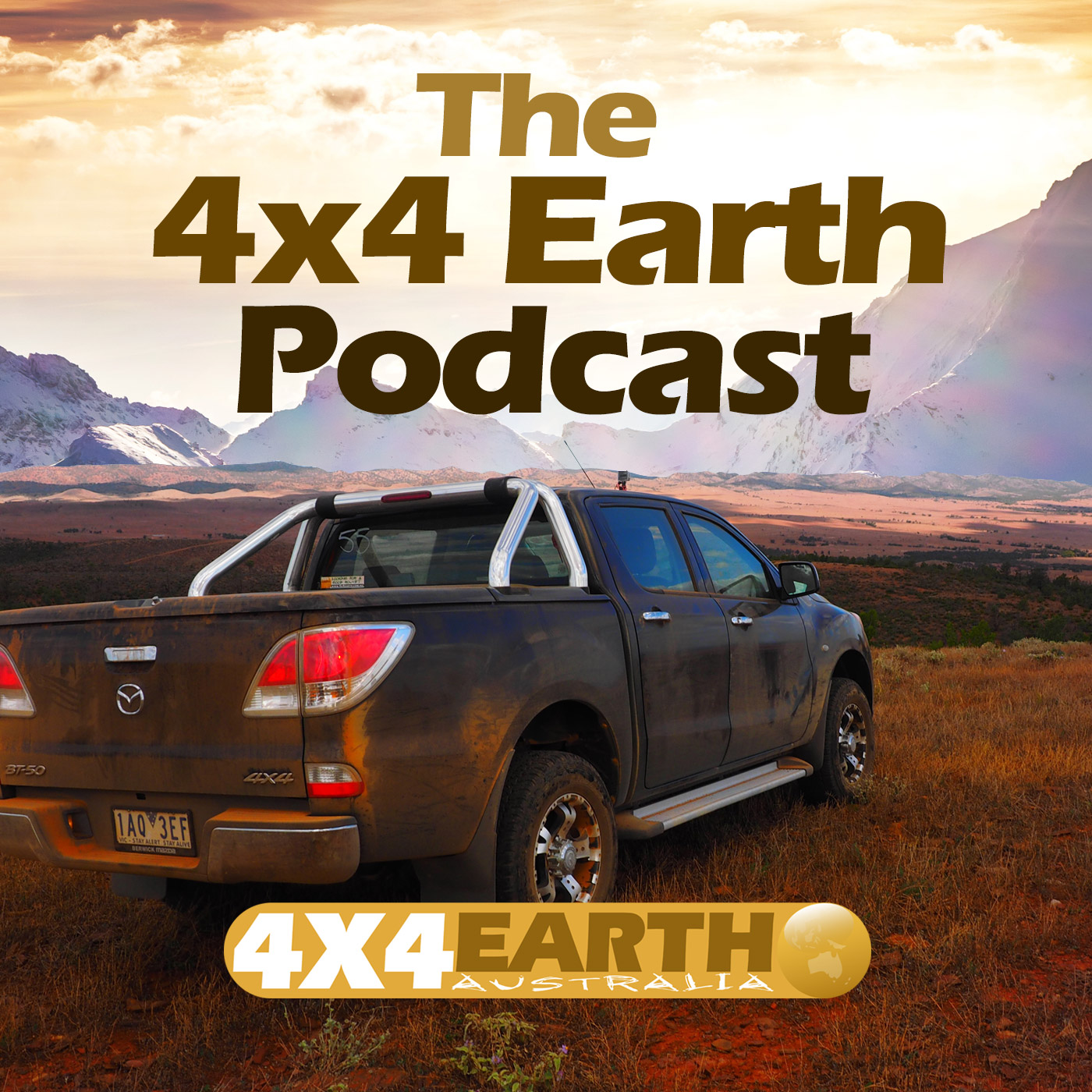 4x4 Earth - The 4WD, Camping, Fishing and Outdoors podcast. show art