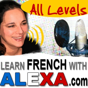 Learn French With Alexa show art