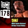 Artwork for UHF with Jamie Bichsel of Neo Trash Video - Movie Review - Episode 178