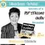 Artwork for Christine Rae - Secrets of a Top Staging Guru Revealed: 5 Minute Success - The Podcast, Episode 75