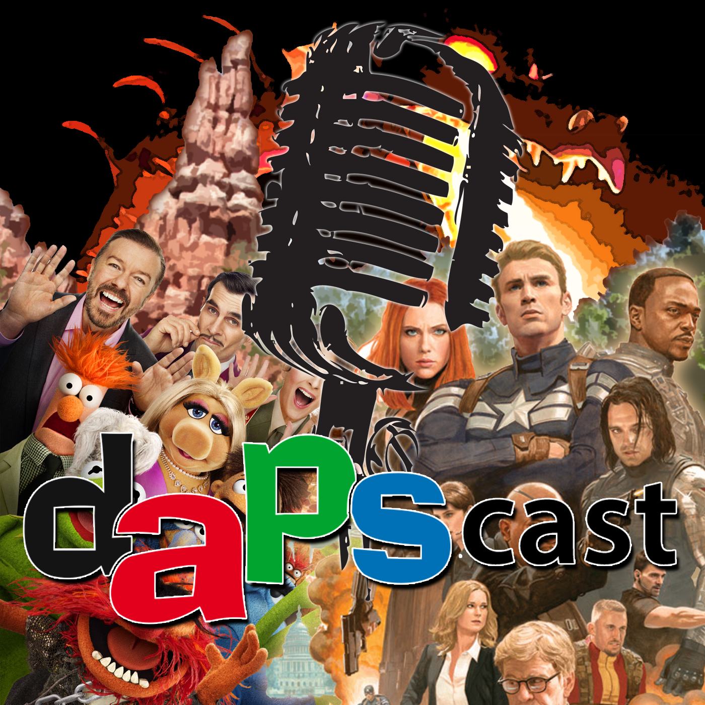 Muppets, Captain America, Big Thunder Mountain, & Fantasmic! - DAPscast - Episode 2