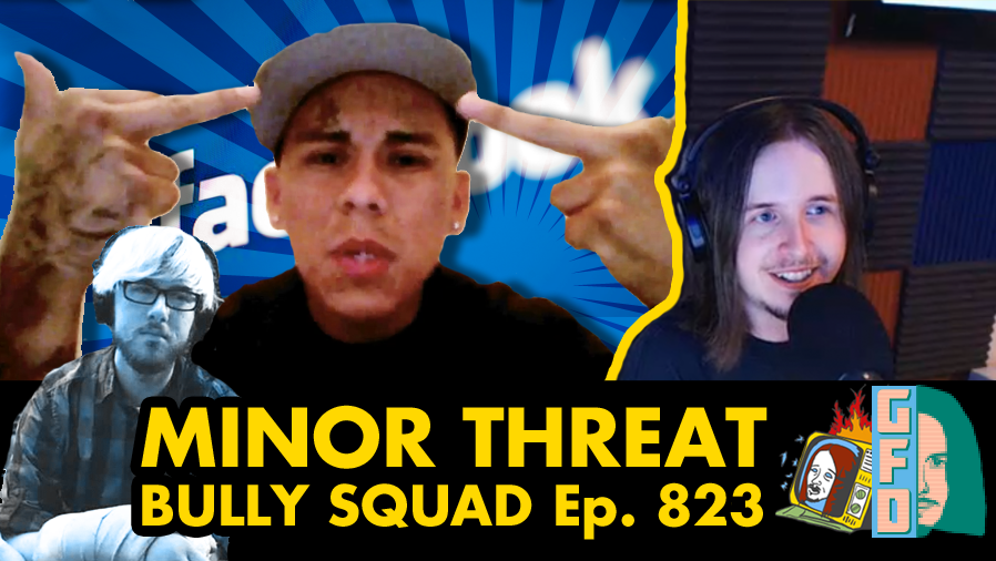 Bully Squad w/ Matt Herrington - Ep. 823 (CYBERBULLYING, FACEBOOK, AUTISM, PESTICIDES)