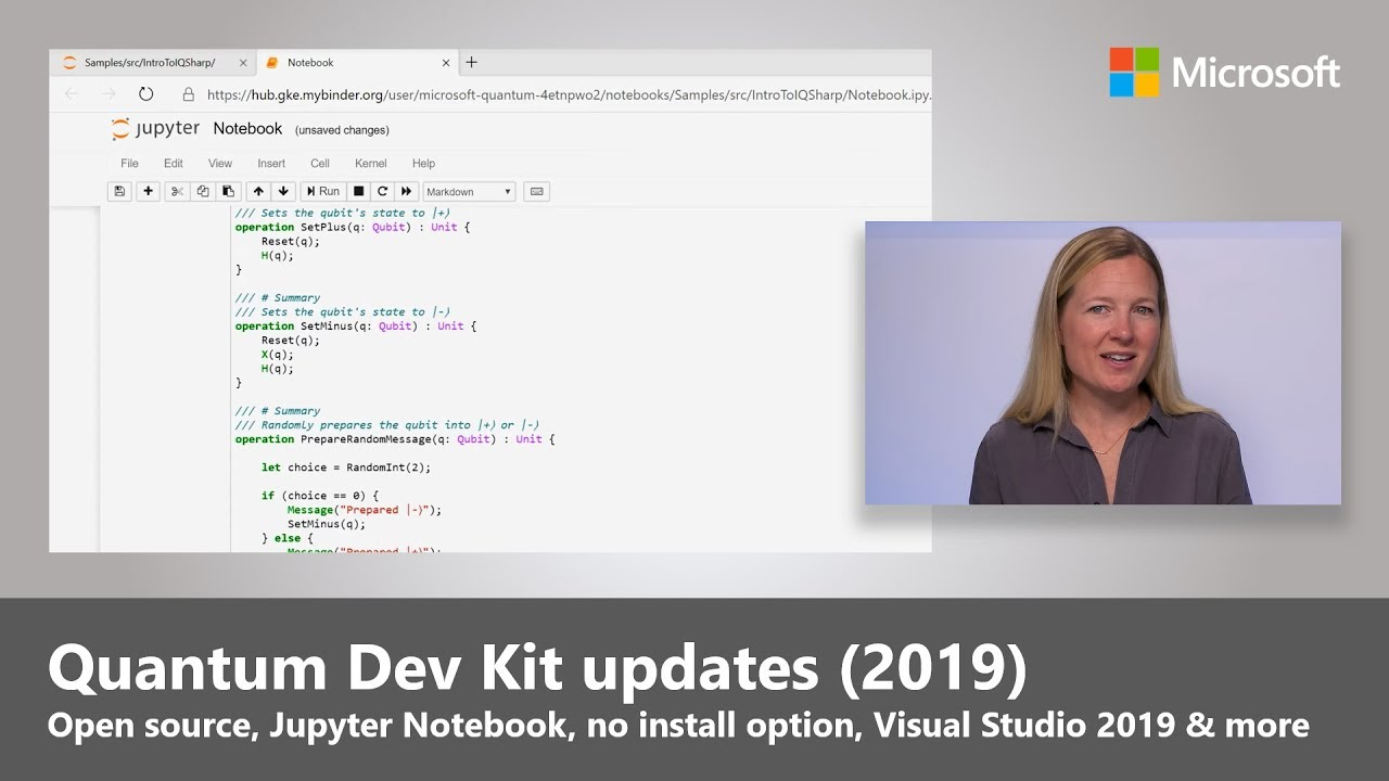 Artwork for Quantum Development Kit | Now open source + updates (2019)