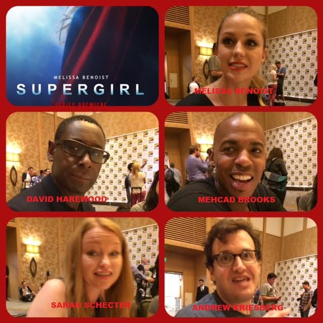 Episode 635 - SDCC: Supergirl w/ Melissa Benoist/Mehcad Brooks/David Harewood/Andrew Kriesberg/Sarah Schecter!
