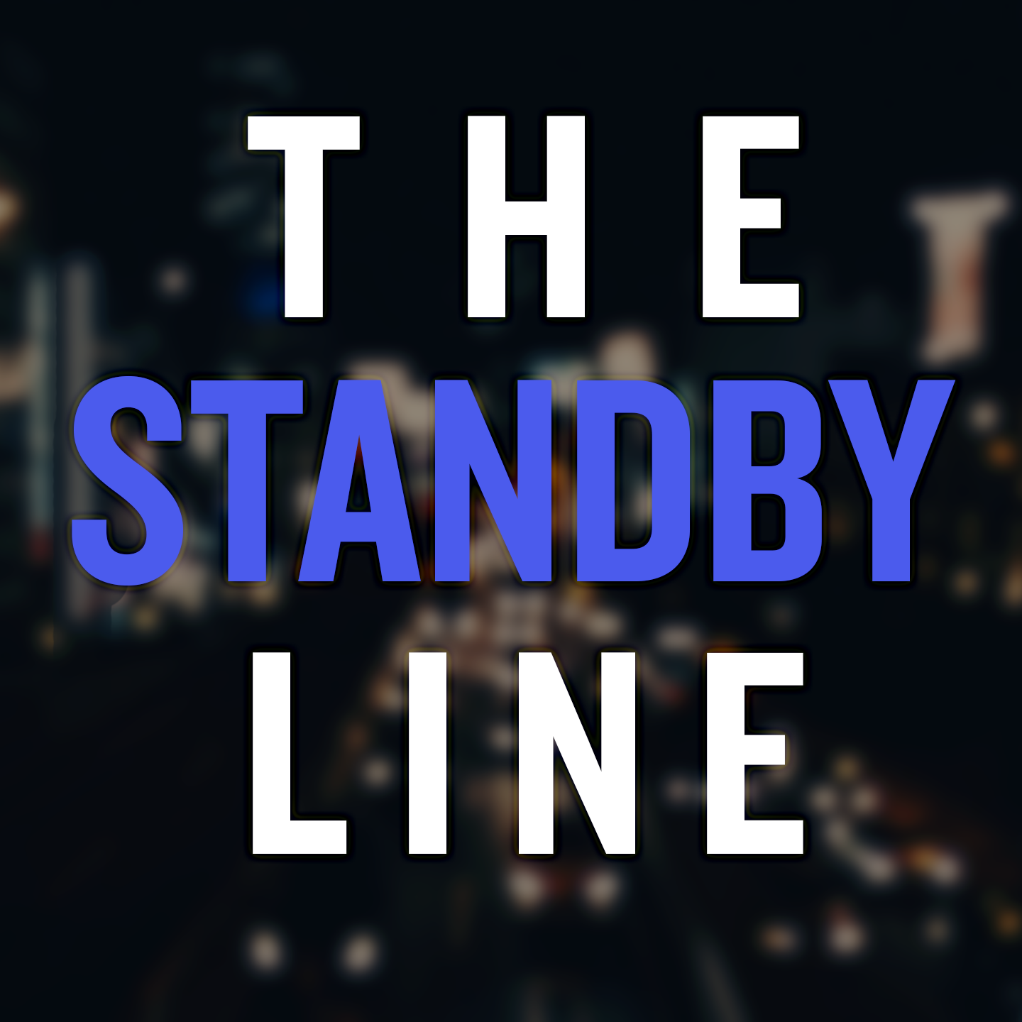 The Saturday Night Live (SNL) Standby Line show art
