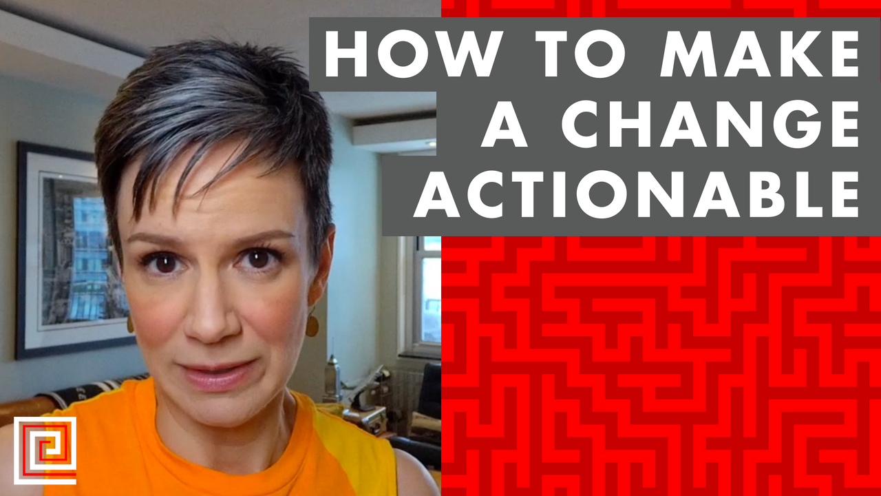 Artwork for EP071: How to Make a Change More Actionable
