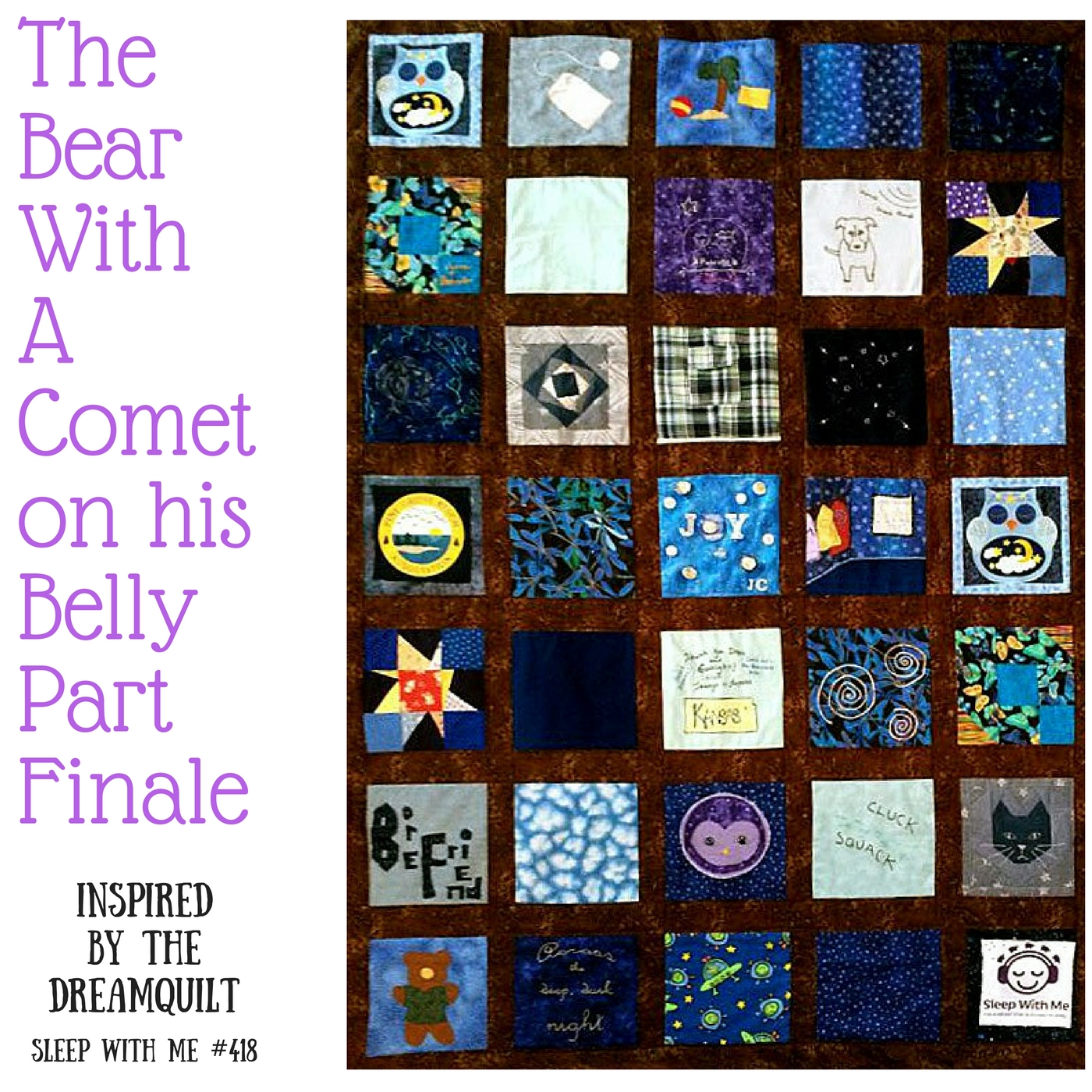 The Local Borefriend | The Bear With a Comet on his Belly | Dreamquilt Conclusion #418