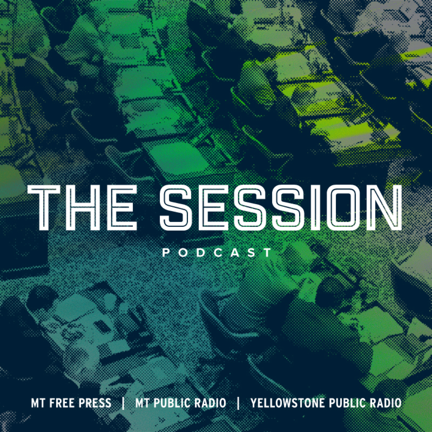 The Session show art