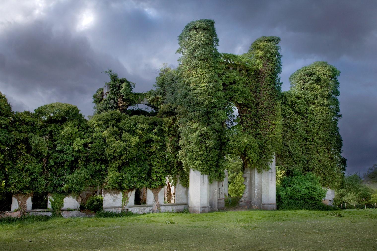 Irish Ruins After Luminar AI