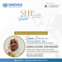 Artwork for Episode Fourteen: Displacement and Humanitarian Assistance with Commissioner Amira El Fadil
