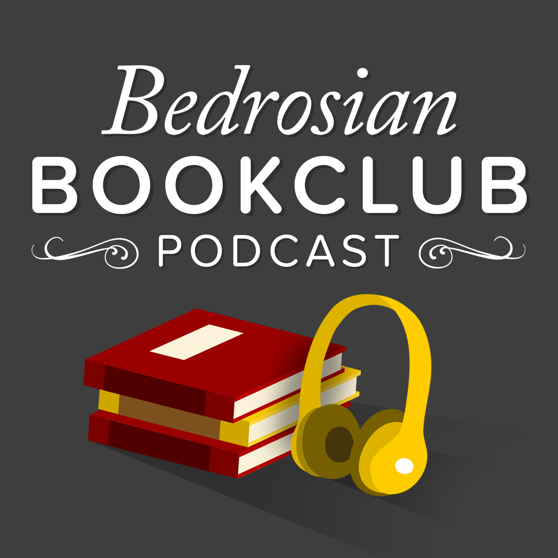Bedrosian Bookclub Podcast show art