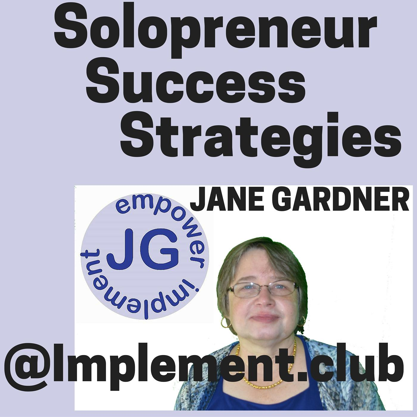 Artwork for 142 Sumopaint for Freebie Friday on Solopreneur Success Strategies
