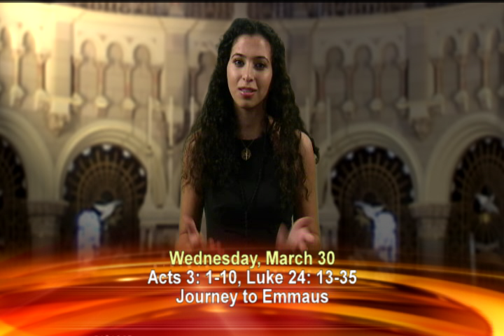 Artwork for Wednesday, March 30th Today's Topic: Journey to Emmaus