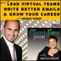 Artwork for 29: How to lead virtual teams, write better emails, and grow your career by being a great corporate leader while writing books and blogs on the side with Hassan Osman on the TalentGrow Show