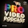 Artwork for Pro Video Podcast 49: FCB Motion. Motion Design, Editing, 3D, Rendering, Teams, Creative Development, Passion Projects and more.