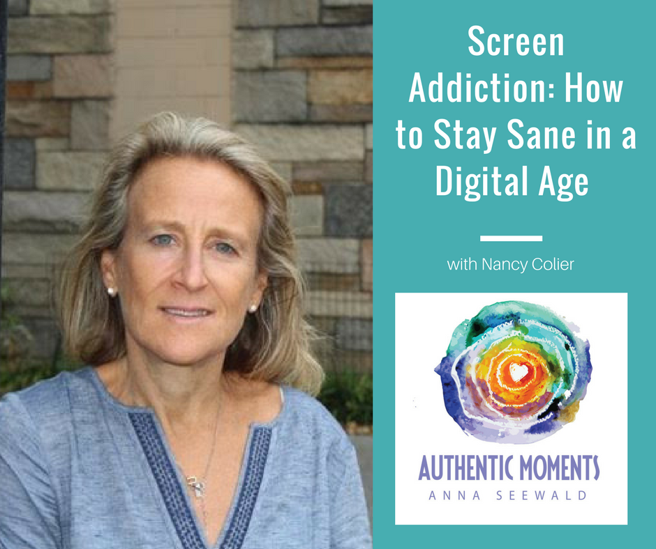 Artwork for Screen Addiction: How to Stay Sane in a Digital Age -Nancy Colier