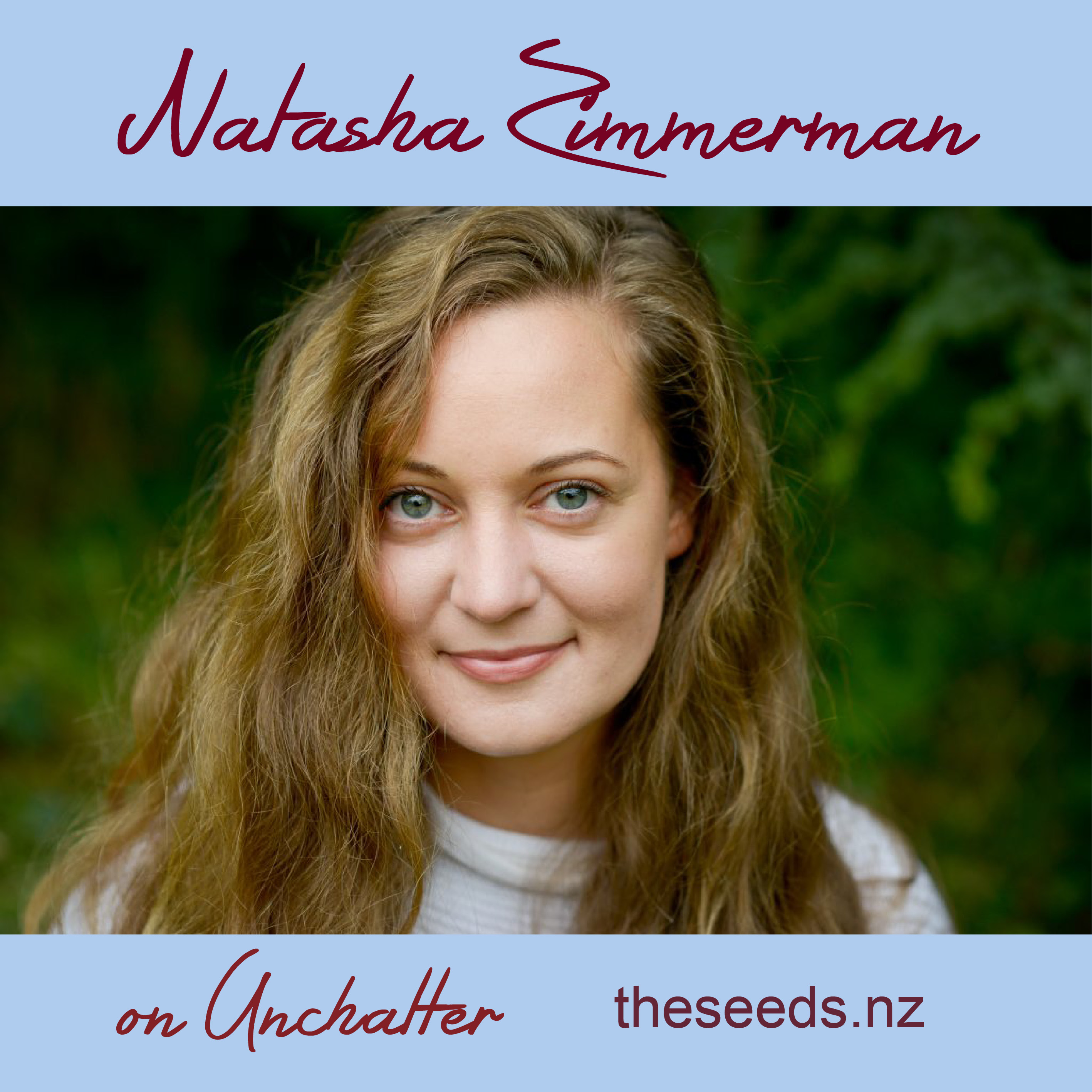 Artwork for Natasha Zimmerman on the science of belonging, community and founding Unchatter
