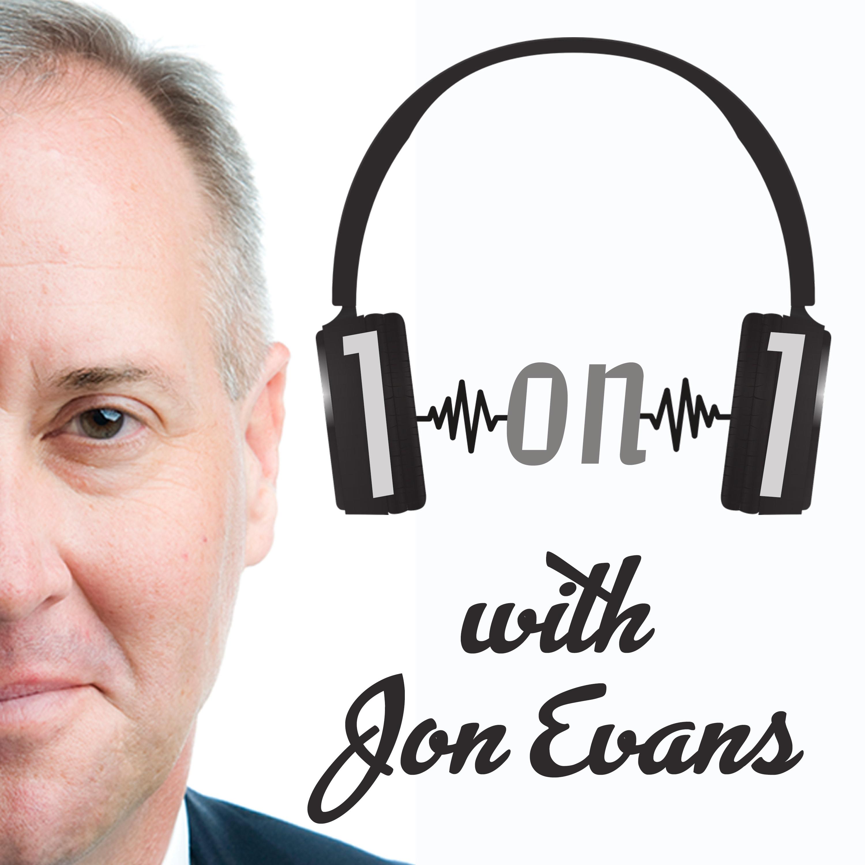 1on1 with Jon Evans show art