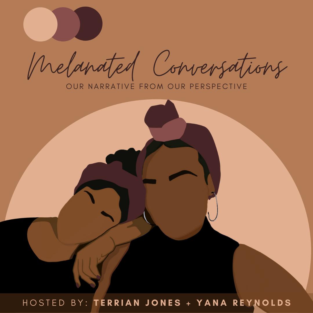 Melanated Conversations show art