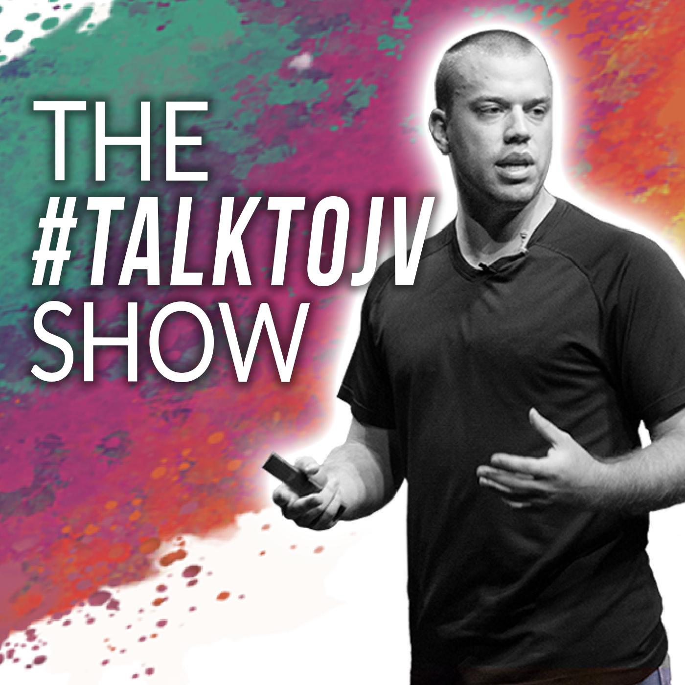 The #TalktoJV Show show art