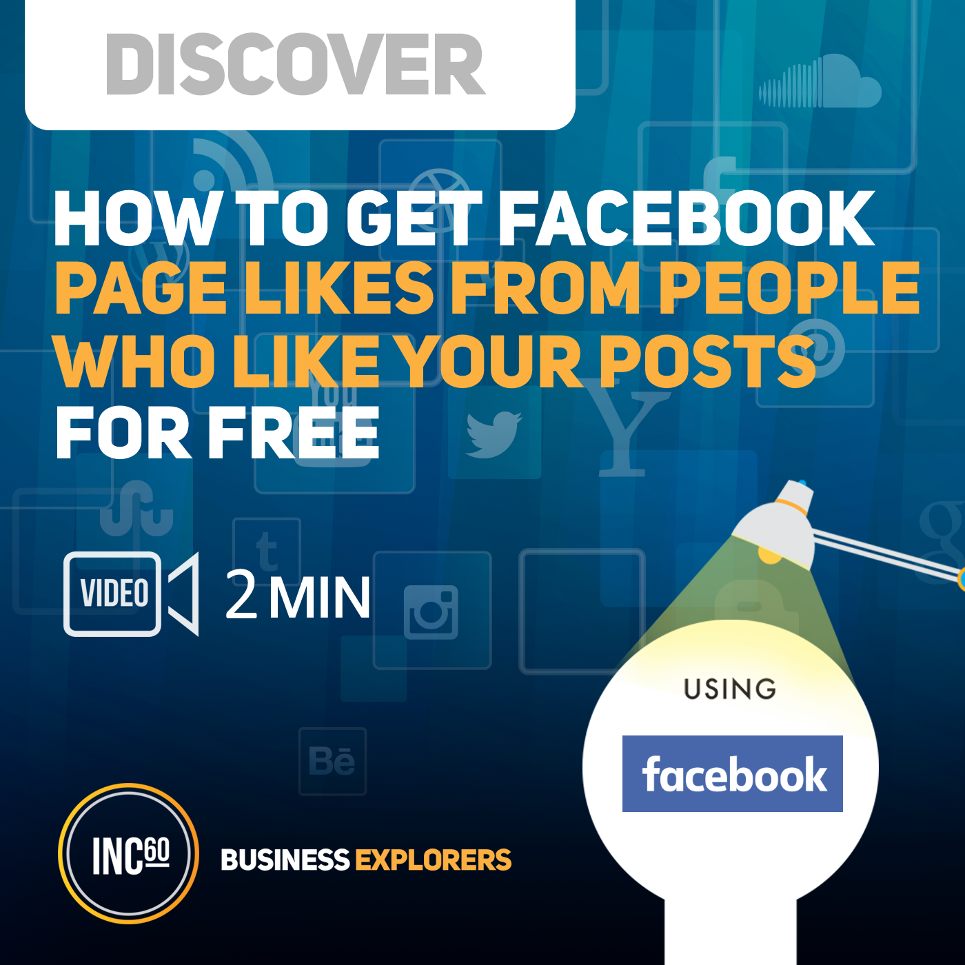 Artwork for Tip on how to get facebook page likes - 2mins