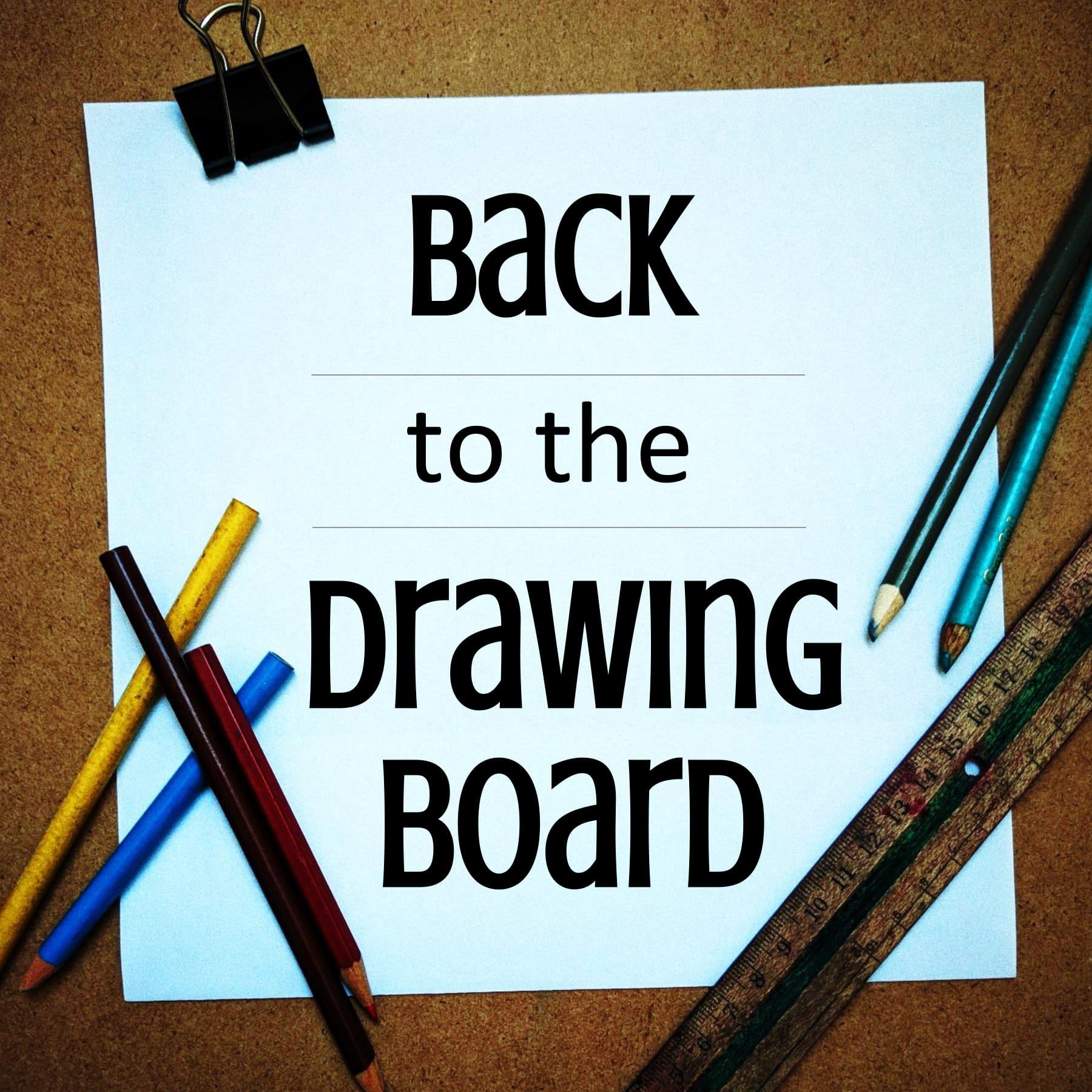 Back to the Drawing Board show art